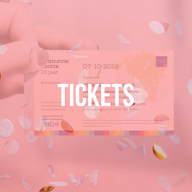 FNV MOODAG 2018 tickets