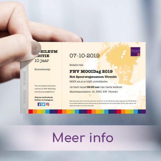 FNV MOOIDAG 2019 tickets